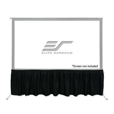 "New Elite Screen Drape Kit For Yard Master 2 Dual Projection Screens 90"" To 135"""