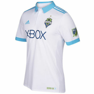 Brand New Seattle Sounders Adidas XBOX 2018 MLS Football Shirt. Size M (Small M)