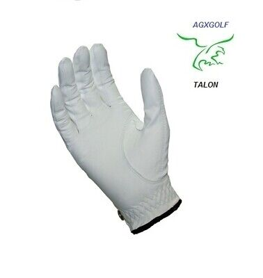 6 Pack Men's All Cabretta Leather Golf Right Hand Gloves For Left Handed Golfers
