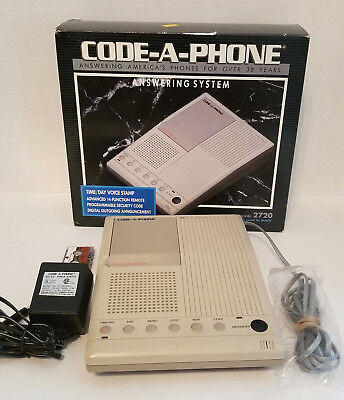CODE-A-PHONE 2720 Answering Machine