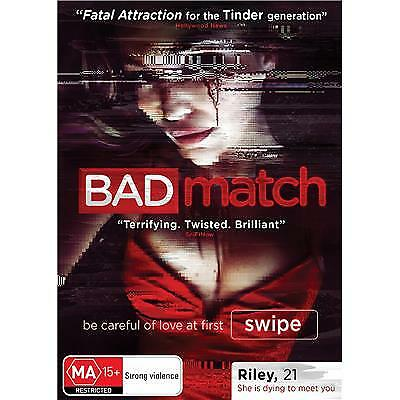 Bad Match Dvd, New & Sealed, 2018 Release, Region 4, Free Post
