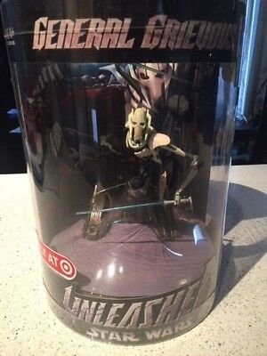 2006 Star Wars Unleashed GENERAL GRIEVOUS TARGET ONLY Figure MIB