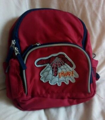 9e2bc44254 Pottery Barn Kids Boy Spider-Man Mini Pre-K BACKPACK Toddler Red  Small