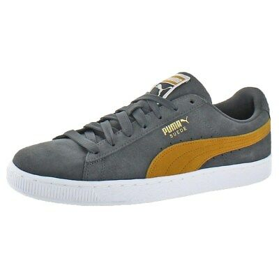 PUMA Suede Classic Men s Sneakers Shoes Iron Gate Buckthorn Brown 11 New In  Box e5051a510