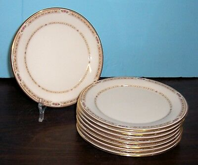 """Lot 8 Gorham Chapel Hill Bread & Butter Plates  6.5"""" Never Used Free Us Shipping"""