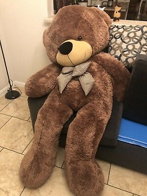 Giant Teddy Bear Plush Stuffed Big Animal Toys Valentine Kids Birthday Gift 47""