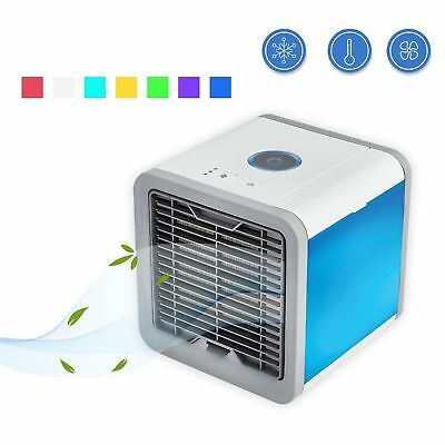 Arctic Air Conditioner Portable Fan Personal Desk Air Cooler Humidifier Home Car