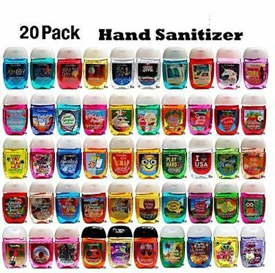 Bath and Body Works Anti-Bacterial Hand Gel 1-Pack 20 PocketBac Sanitizers