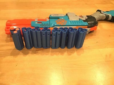 8 Nerf Compatible Zombie Strike Dart Shell Sledge Fire SledgeFire (SHELLS ONLY)
