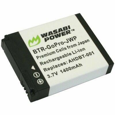Wasabi Power Battery for GoPro HD HERO/GoPro Hero2 - 1400mAh