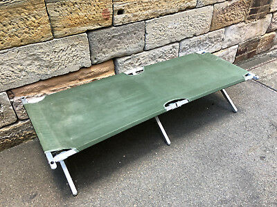 Australian Army Collapsible Camp Stretcher Bed