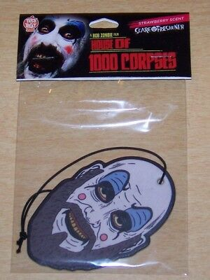 House of 1000 Corpses Captain Spaulding Car Air Scare Freshener TOTS
