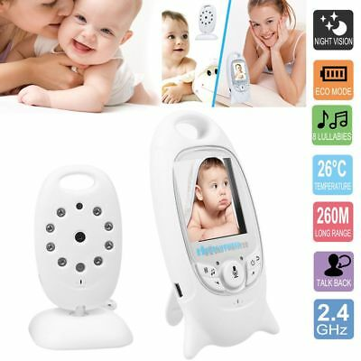 """2"""" Baby Monitor LCD Audio Talk Night Vision Wireless Digital Video Security Cam"""