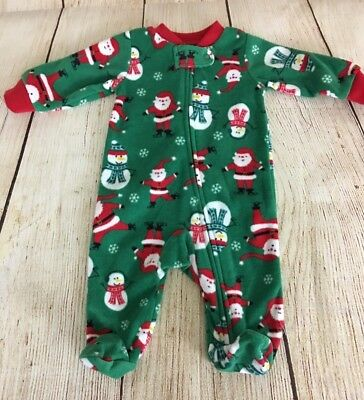 4ff7e18f42 HOLIDAY FAMILY PAJAMAS Newborn Baby Unisex Snowflake Footed Blanket ...