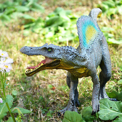 Moveable Jaw Spinosaurus Toy Figure Jurassic Dinosaur Model Kids Christmas Gift