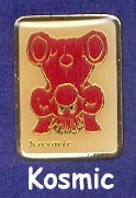 RARE 1980's Kodak Kolorkins Photography Mascot Camera Film Pin ~ Red Kosmic z3