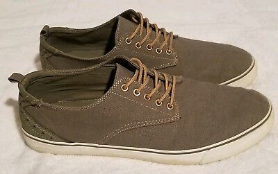 GAP MENS FASHION Sneakers Gray Lace Up Round Toe Low Top 12