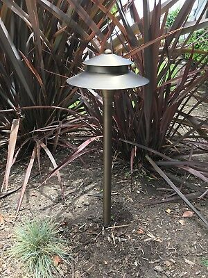 Solid Brass Low Voltage LED Spread Path light - Architectural Landscape Lighting