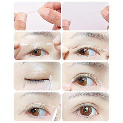 Bynanda Double Eyelid Tape Invisible Fiber Waterproof Eyelid Tape Makeup Tool Oi