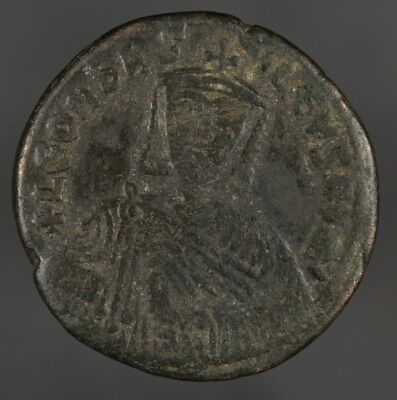 886-912 AD Byzantine leo VI the wise follis Ancient Coin