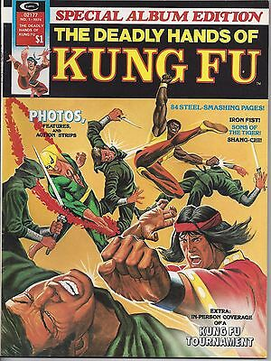 Deadly Hands of Kung Fu Special #1 (1974,Marvel) McLaughlin/Trimpe/Vosburg VF/NM