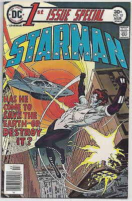 1st Issue Special #12 (Mar 1976, DC) Conway/Vosburg [Blue Starman]  VF
