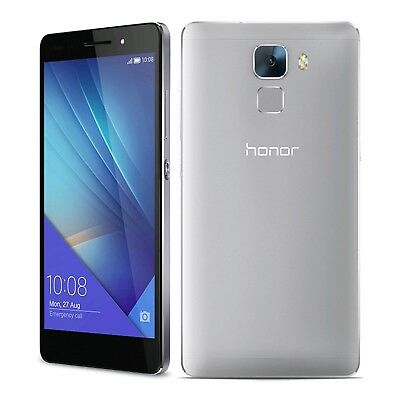 Movil Huawei Honor 7 PLK-L01 16GB 3GB Dual SIM Libre Plata | C