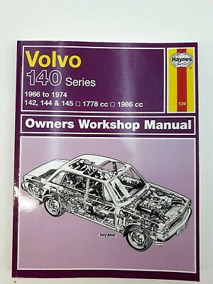Volvo 140 series Haynes Service and Repair Manual 1966-1974 B18 B20