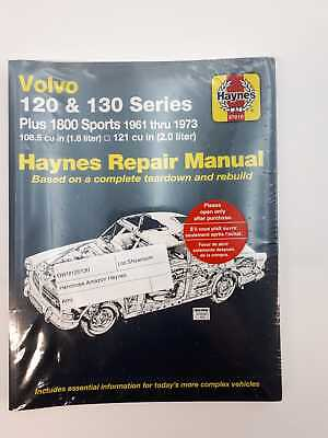 Volvo Amazon 1800S Haynes Service and Repair Manual 1961-1973 B18 B20