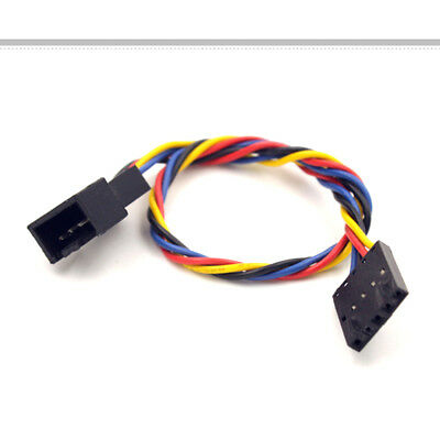 For Dell 5pin to 4pin Computer Fan Connector Adapter Convertion Extension Cable