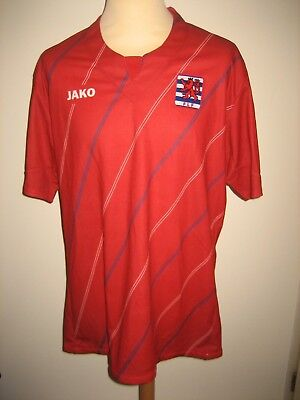 Luxembourg PLAYER ISSUE football shirt soccer jersey trikot maillot foot size XL