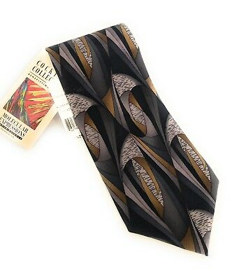 NEW Stonehenge Cocktail Collection Vodka Novelty MADD Charity Tie Pure Silk NWT