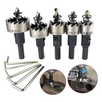 Hole Saw Set Drill Tooth Steel Hss Bit Cutter Metal Wood Alloy Tool Stainless Q