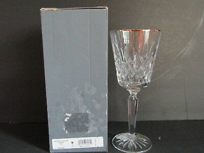 """NEW Waterford Crystal LISMORE PLATINUM~ Goblet~For WATER~WINE~8.25""""~Lead Crystal"""