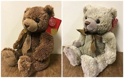 """New Soft Plush Keel Traditional Teddy Bear """"Chester"""" 25cm Cuddly Toy Ideal Gift"""