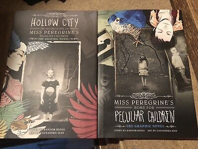 Miss Peregrine's Home for Peculiar Children Signed Graphic Novels