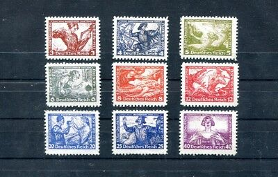 The Wagner series stamps 1943. Germany