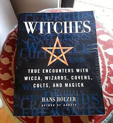 Lot of 3 Old and New Wicca Witchcraft Salem Books Great for Metaphysical Studies