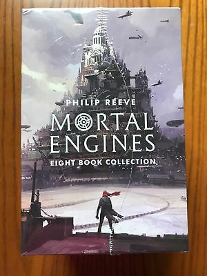 Mortal Engines Collection Philip Reeve 8 Books Box Set SEALED Expedited ship av.