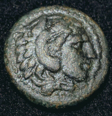 Alexander III The Great - AE 18mm VF++