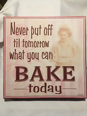 Bakery Art Kitchen Decorations Great gifts for your Baker Baking Decor