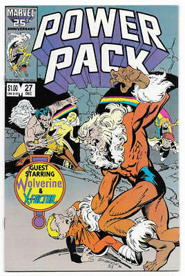 POWER PACK #27, VF/NM, Marvel, 1984 1986, Wolverine, X-Factor, more in store