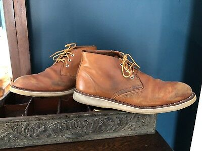 af642ff81c3 RED WING HERITAGE 3140 - Work Chukka Oro-iginal Leather - Men's Size 12 D