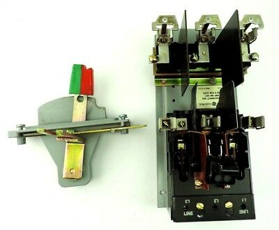 GENERAL ELECTRIC 3 POLES QMR SWITCH THMS31 MOD 2 MR30 30 Amp Mounted On Base