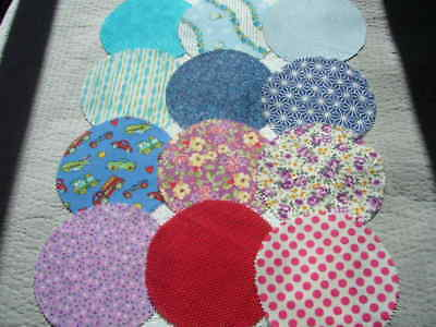 Fabric Jar Lid Covers X 12 For Your Home Made Jams Preserves Pickles And Etc