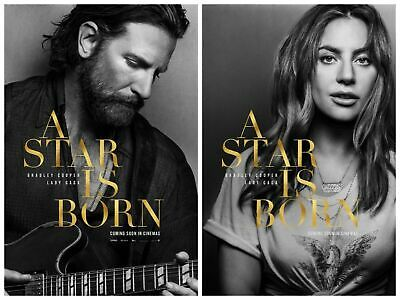 A Star is Born Movie Bradley Cooper Lady Gaga Poster High Quality wall poster