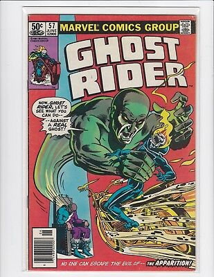 Ghost Rider vol.1 #57 newsstand - Johnny Blaze - 1981 - Very Fine