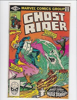 Ghost Rider vol.1 #59 - Johnny Blaze - 1981 - Fine