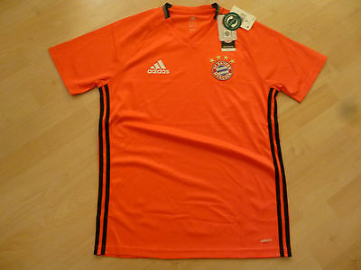 NWT Adidas 2016/17 Bayern Munich Red AziZero Prematch Training Jersey Medium XL