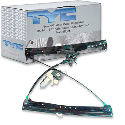 TYC Front Right Power Window Motor and Regulator Assembly for 2008-2015 xp